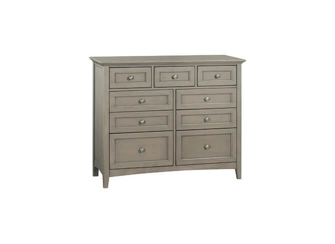 McKenzie 9-Drawer Dresser in Fieldstone