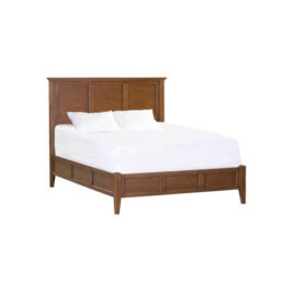McKenzie Bed Queen in Glazed Antique Cherry