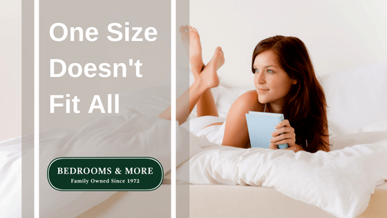 One Size Doesn't Fit All Blog Title Graphic