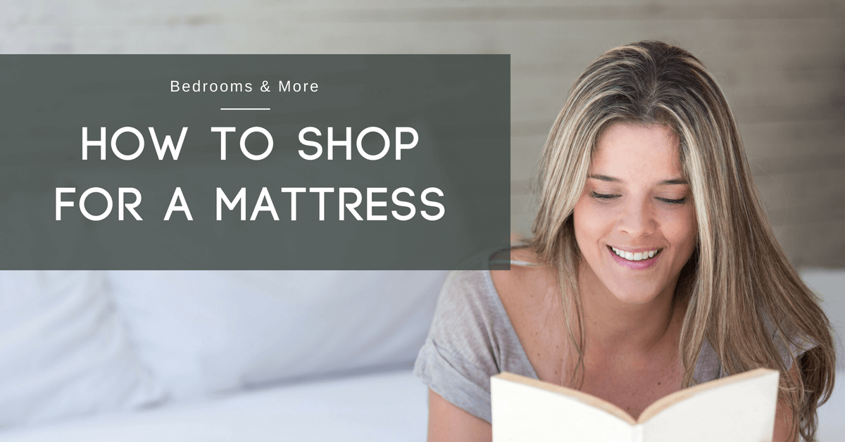 How to Shop for a Mattress Blog Banner