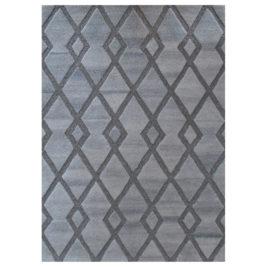 Charcoal Mosaic Rug