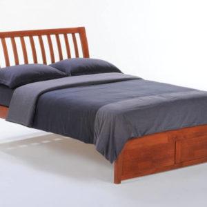 Nutmeg K-series Bed Full Cherry