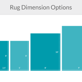 Rug Option Dimensions