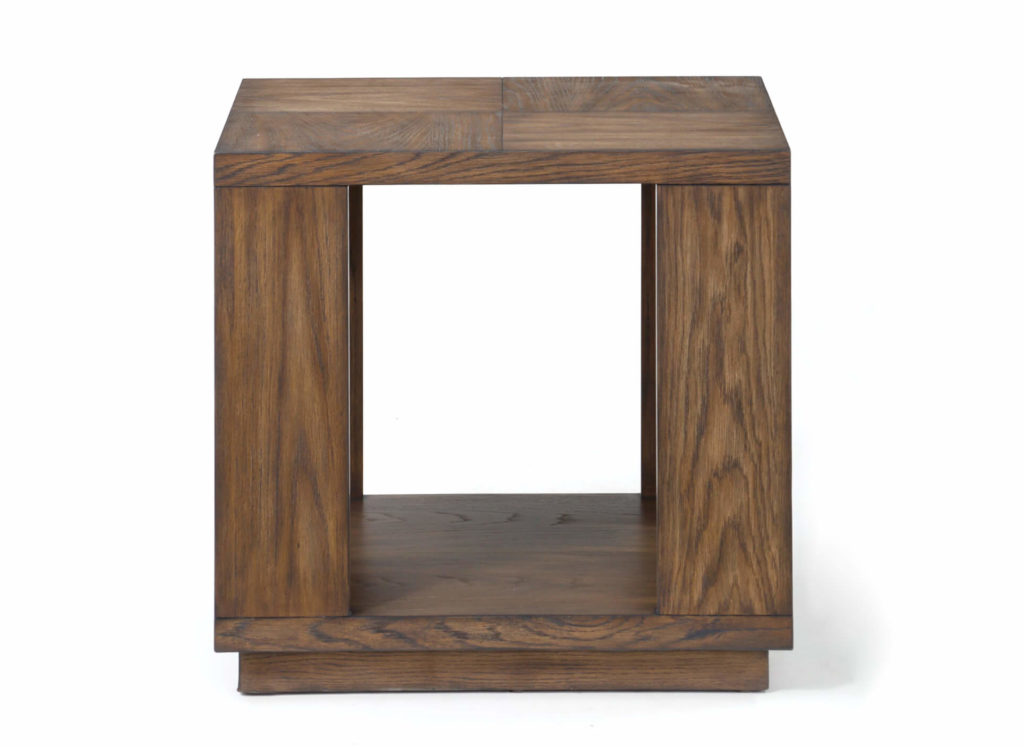 Maximus End Table Front View