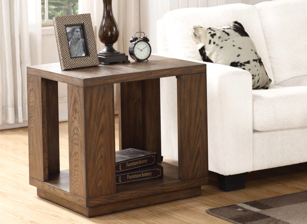 Maximus End Table in Lifestyle