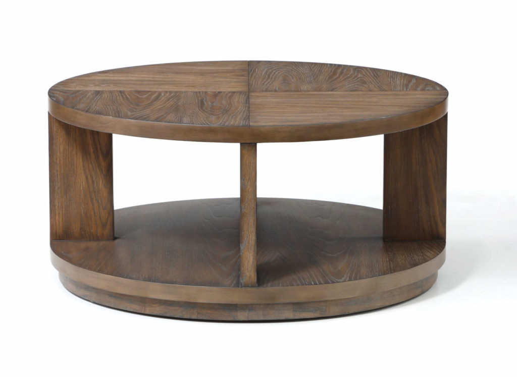 Maximus Round Cocktail Table Side View