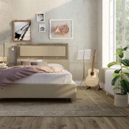 Amisco Carter Upholstered Bed Frame