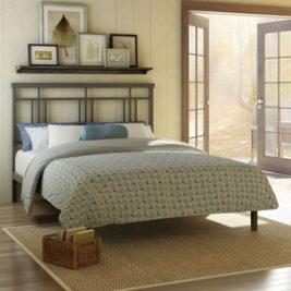Amisco Cottage Metal Bed Frame