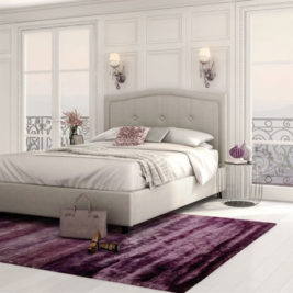Amisco Crocus Upholstered Bed Frame