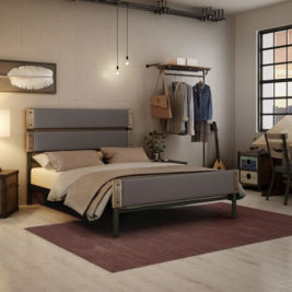 Amisco Dunhill Metal Bed Frame