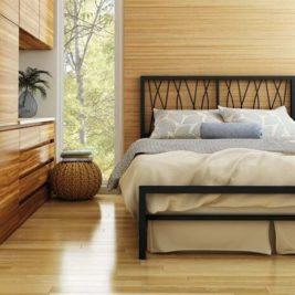 Amisco Ivy Metal Bed Frame