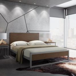 Amisco Lidgie Metal Bed Frame