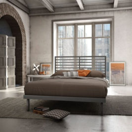 Amisco Theodore Metal Bed Frame