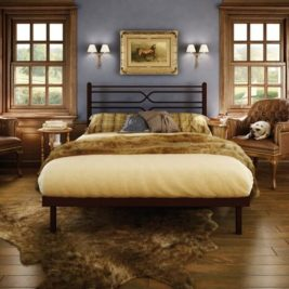 Amisco Timeless Metal Bed Frame