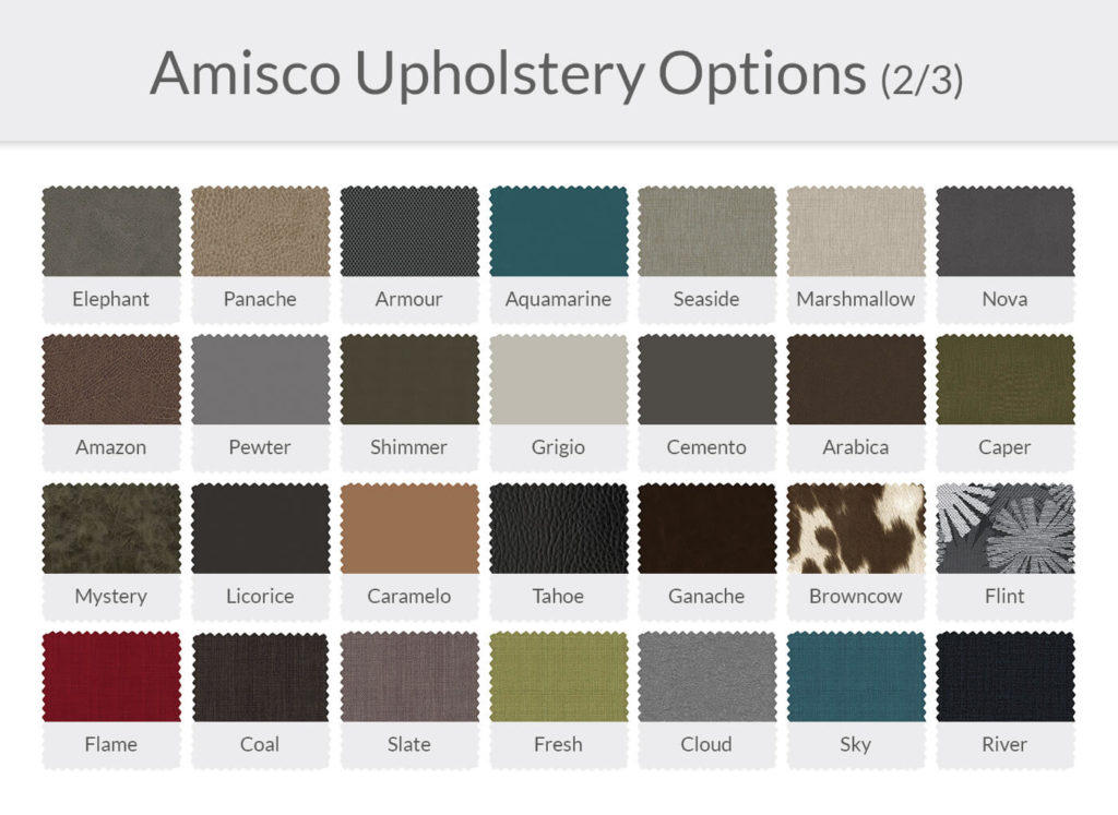 Amisco Upholstery Options 2/3