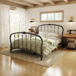 Amisco Vanna Metal Bed Frame