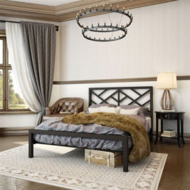 Amisco Windmill Metal Bed Frame