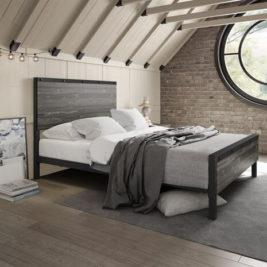 Amisco Winkler Metal Bed Frame