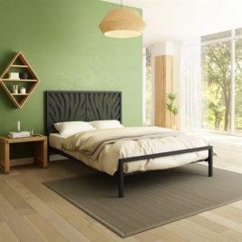 Amisco Zebra Metal Bed Frame
