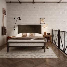 Amisco ZipCode Metal Bed Frame