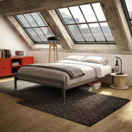 Amisco Uptown Metal Bed Frame
