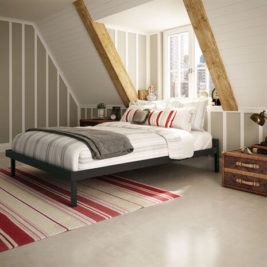 Amisco Attic steel Bed Frame