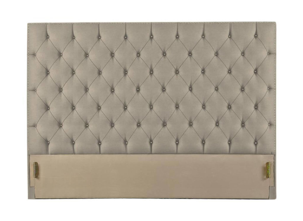 Hamilton Headboard in 10235-75 with Pewter Nail Trim