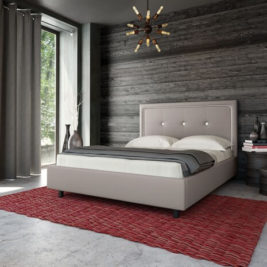 Unison Upholstered Bed in Lifestyle Setting
