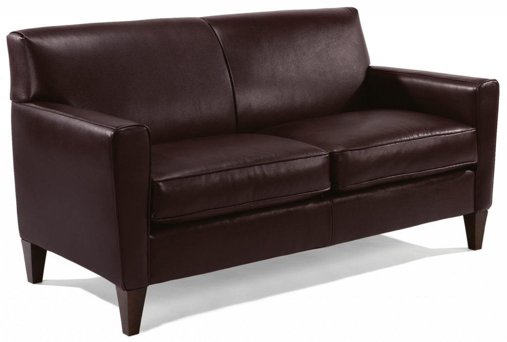Digby 2-Seater in Dark Leather