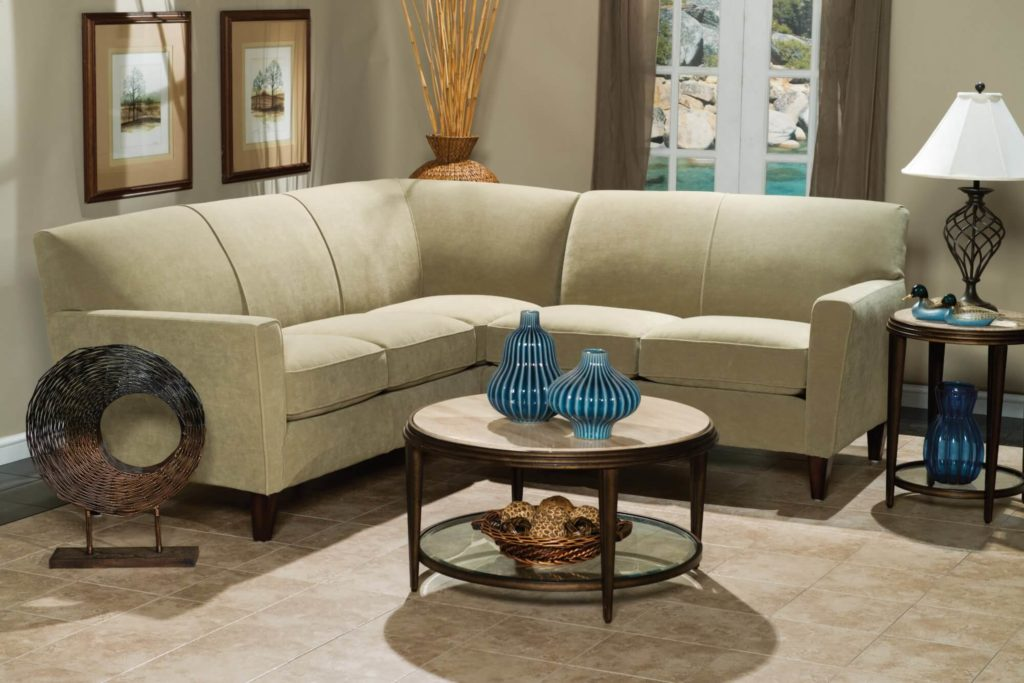 Digby Sectional with Full Wedge in Lifestyle Setting