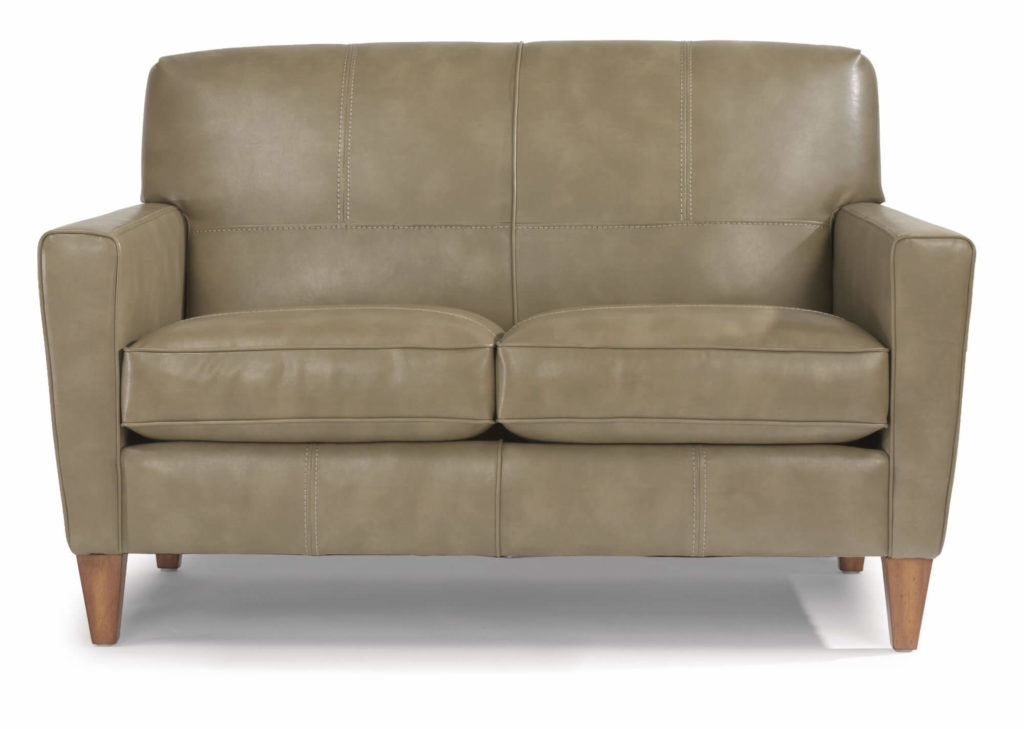 Digby Loveseat in Colored Leather