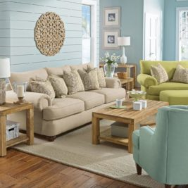 Patterson Sofa in Pastel Lifestyle Setting