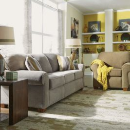 Thornton 3-Seater Couch and Seat in Lifestyle