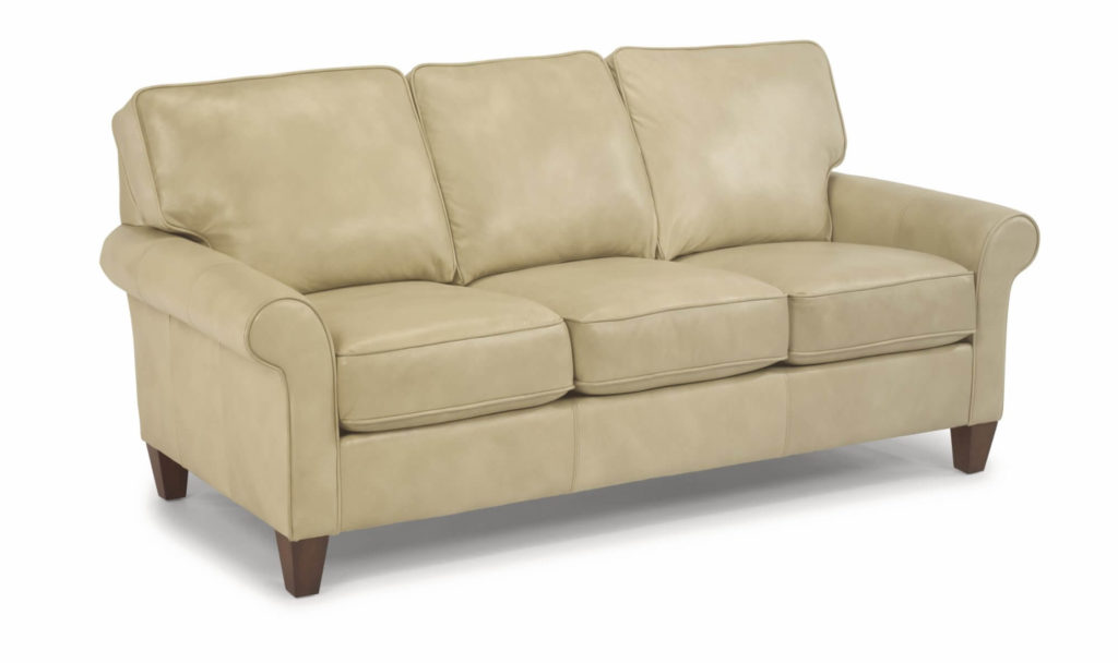 Westside 3-Seater in Tan Leather