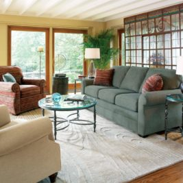Whitney Sofa in Lifestyle Setting