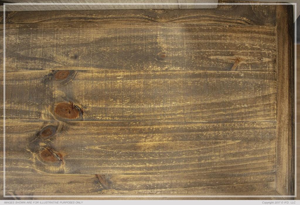 Laguna Bed Wood Detail