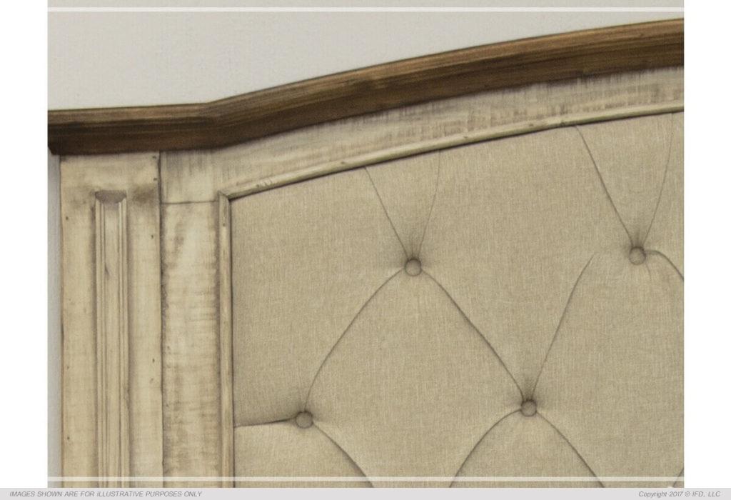 Laguna Bed Upholstered Headboard Detail