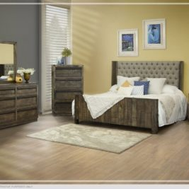 Sierra Upholstered Bed by IFD