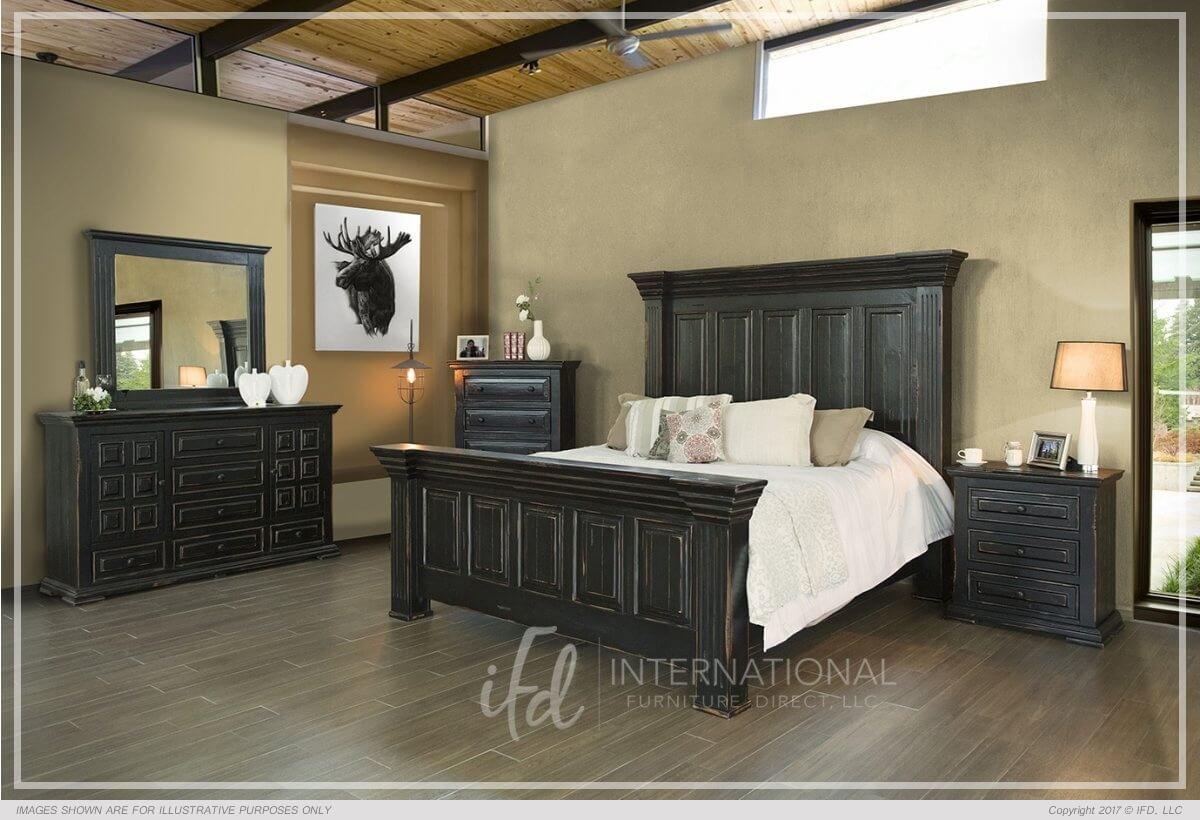 Terra Black Bed Bedrooms More Seattle