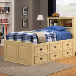 Turner Kids 7004 Bed by North American Wood Furniture