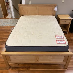 All Wood Concepts American Woodcraft Full Natural Kanyon Complete Bed 01