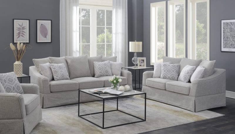 Gabrielle Sleeper Sofa in Lifestyle Setting