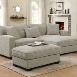 Repose Sectional in Lifestyle Setting