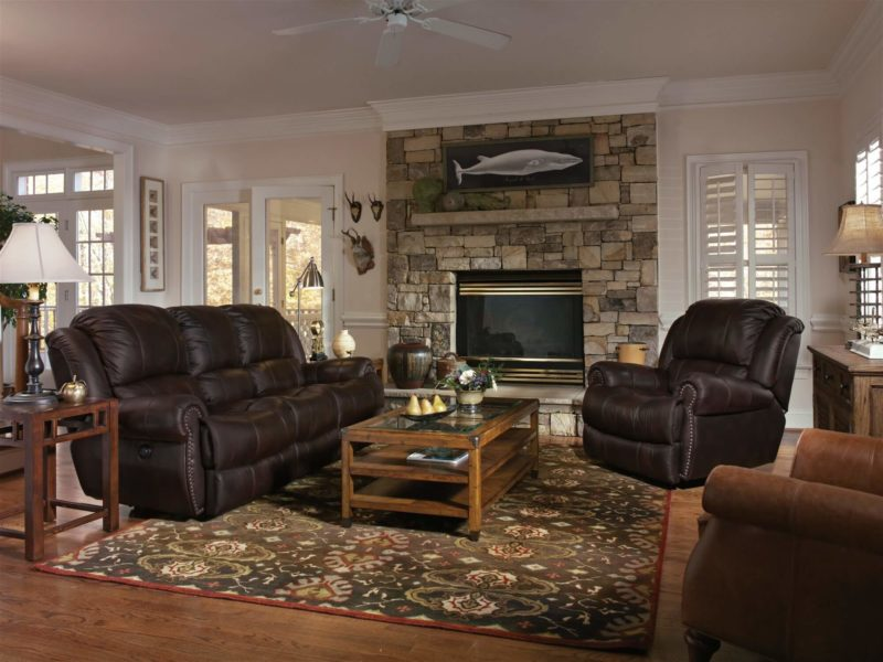 Capitol Recliner Sofa and Recliner