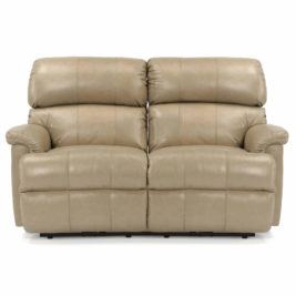 Chicago Leather Loveseat by Flexsteel