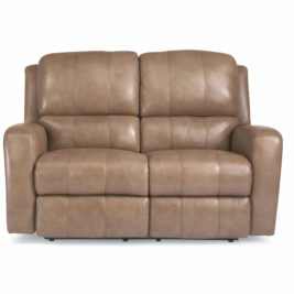 Hammond Leather Loveseat Flexsteel