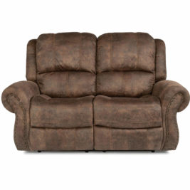 Patton Fabric Loveseat Front View