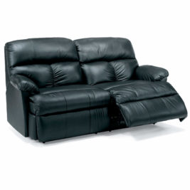 Triton Leather Loveseat by Flexsteel