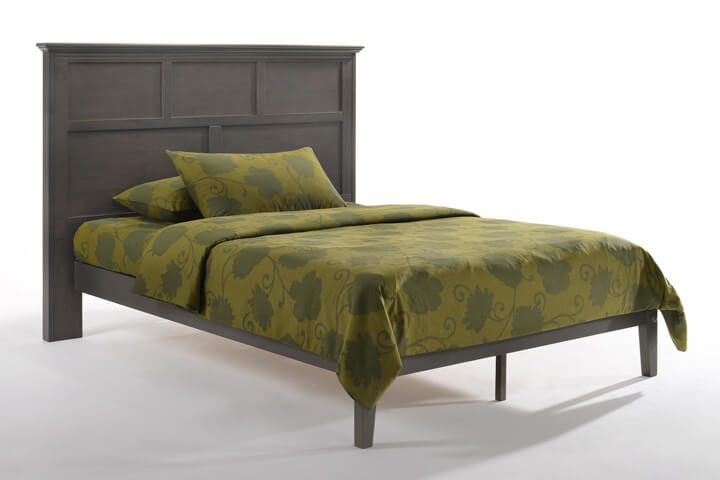 Tarragon Bed in Stonewash