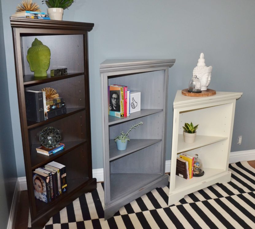 Barcelona Corner Bookshelf with Variable Shelving